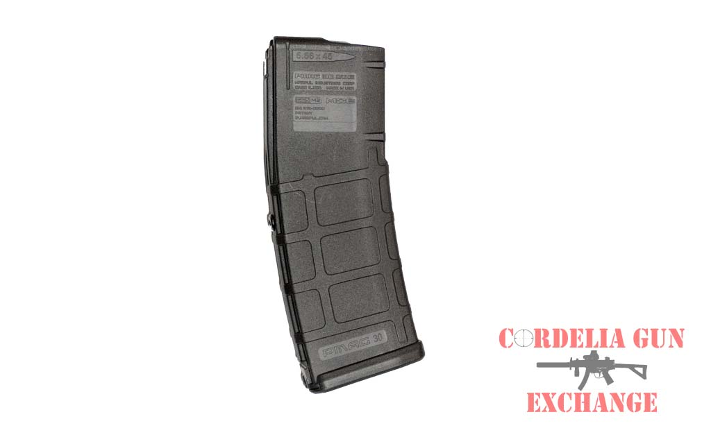 The Magpul 10-30 AR15 556mm Magazine Black GEN2 is legal in California, New York, Connecticut, DC, Maryland and Massachusetts! Available from Cordelia Gun Exchange!