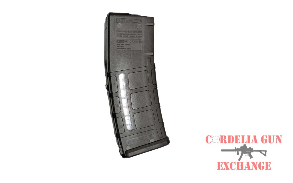 The Magpul 10-30 AR15 Window 556mm Magazine is legal in California, New York, Connecticut, DC, Maryland and Massachusetts! Available from Cordelia Gun Exchange!