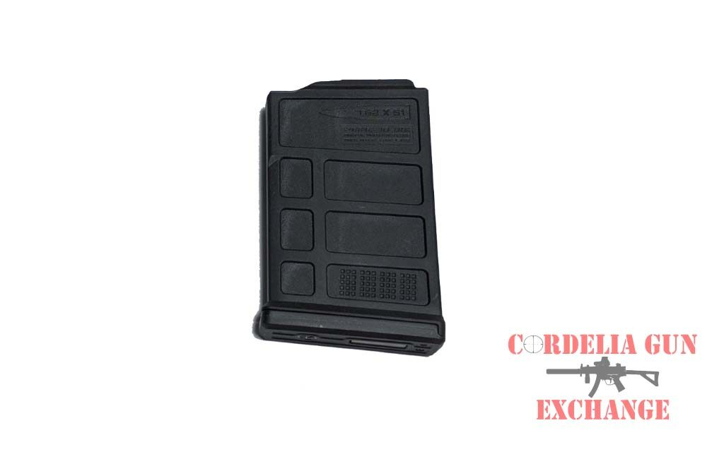 The Magpul 308WIN Short Action Magazine 10 Round AC-AICS is legal in California, New York, Connecticut, DC, Maryland and Massachusetts! Available from Cordelia Gun Exchange.