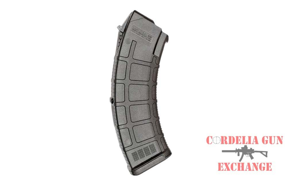 The Magpul AK47 10-30 762x39mm Magazine is legal in California, New York, Connecticut, DC, Maryland and Massachusetts! Available from Cordeoia Gun Exchange!