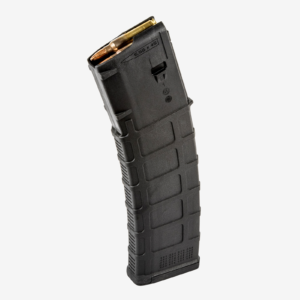 The Magpul 40RD AR15 Black GEN3 PMAG rifle magazine holds 40 5.56x45mm NATO or .223 Remington cartridges for use with AR-15 and M4 rifles.