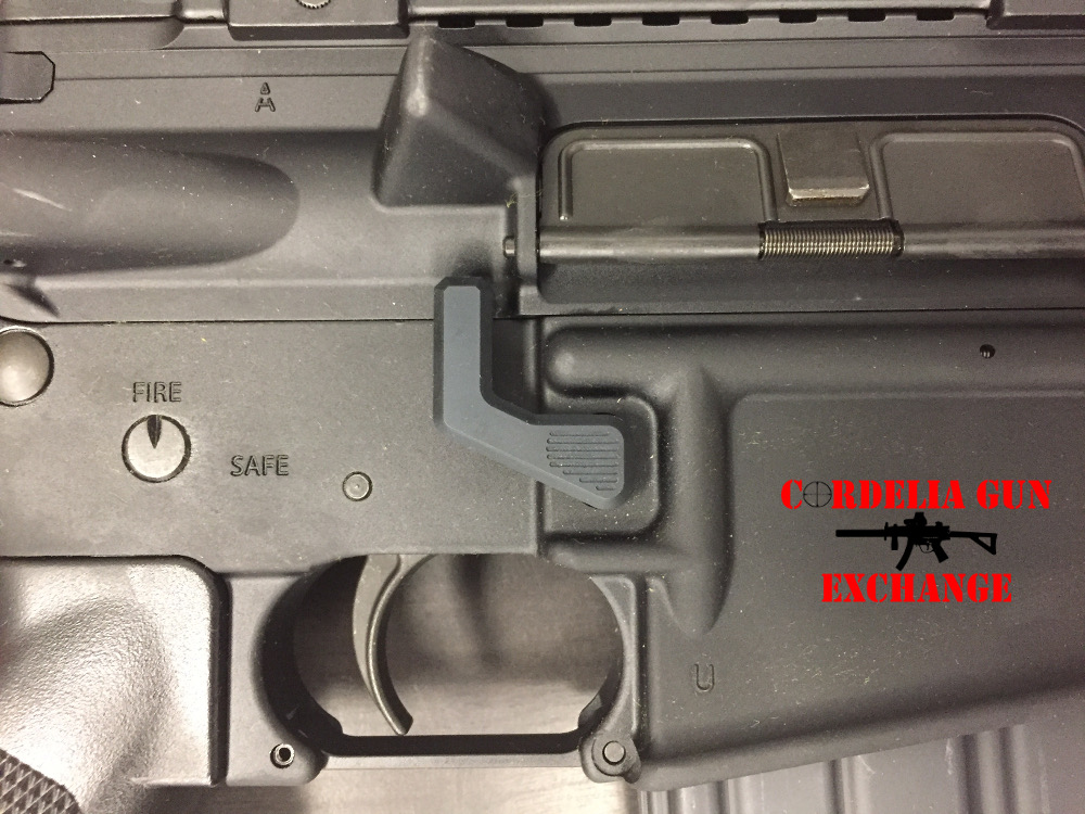 AR Maglock Installed on AR15 AR Maglock - AR15 Rifles