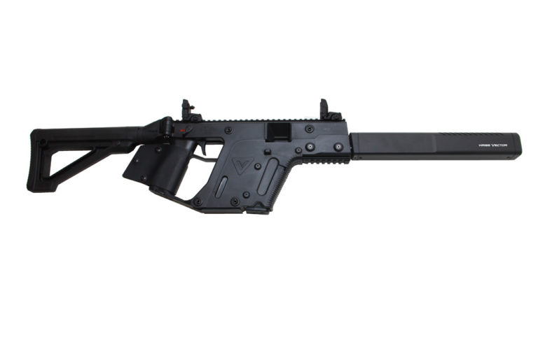 The KRISS VECTOR CRB GEN2 45ACP Black carbine is available in California from Cordelia Gun Exchange!