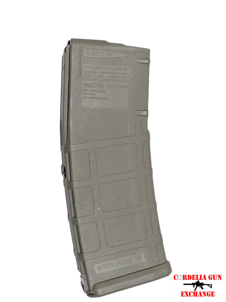 The Magpul 10-30 556mm FOL AR15 Magazine is legal in California, New York, Connecticut, DC, Maryland and Massachusetts! Available from Cordelia Gun Exchange!