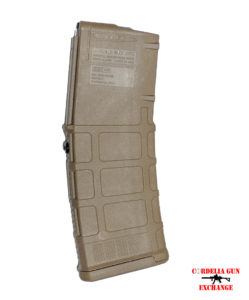 Coyote Tan Magpul 10-30 PMAG AR15 GEN3 556x45mm NATO 223REM MCT. Legal in California, New York, Connecticut, DC, Maryland and Massachusetts!