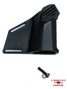 Strike Industries Megafin Featureless Grip. Make your AR10 or AR15 rifle legal in California!