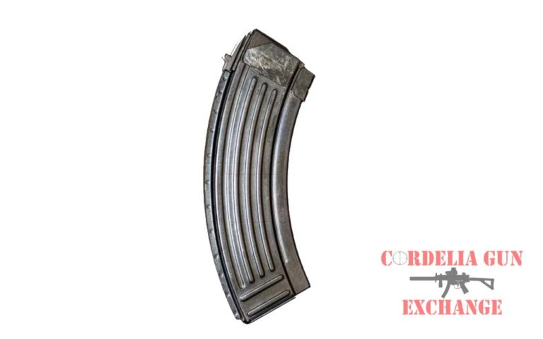 Steel Bulgarian AK47 10-30 762X39mm Magazine. Legal in California, New York, Connecticut, DC, Maryland and Massachusetts! Available from Cordelia Gun Exchange!