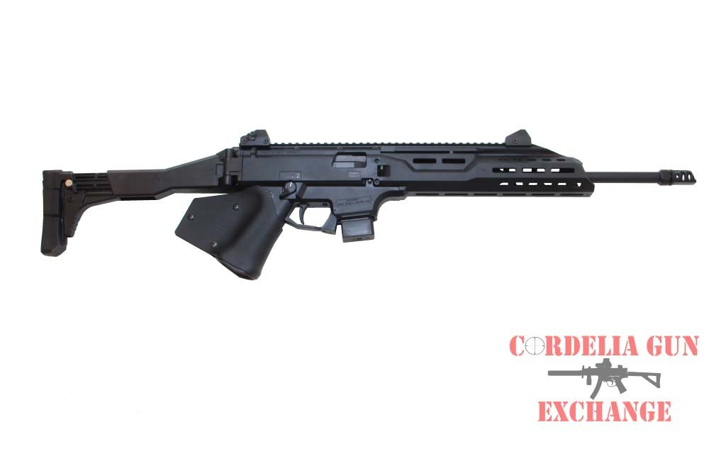 CZ Scorpion 9mm Carbine is available in California from Cordelia Gun Exchange!