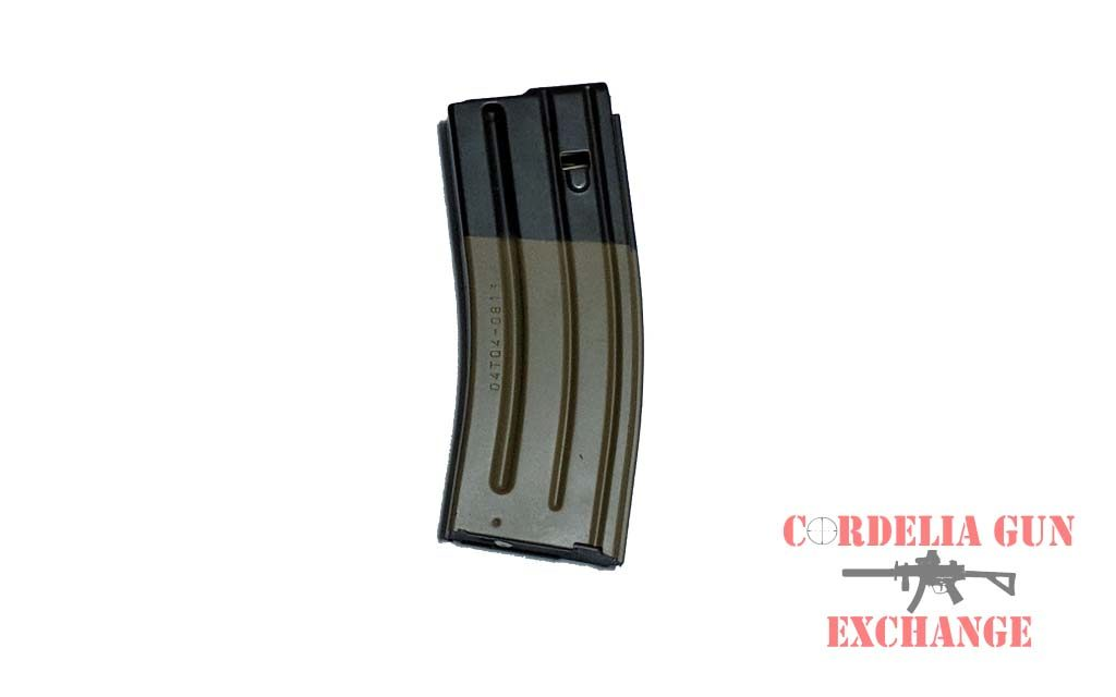 The FN SCAR16 10-30 556mm FDE Magazine is legal in California, New York, Connecticut, DC, Maryland and Massachusetts! It is a genuine steel magazine manufactured by FN!