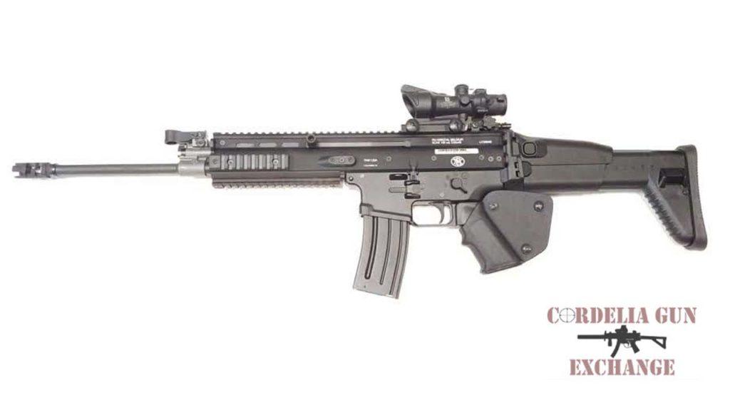 FN SCAR 16S black