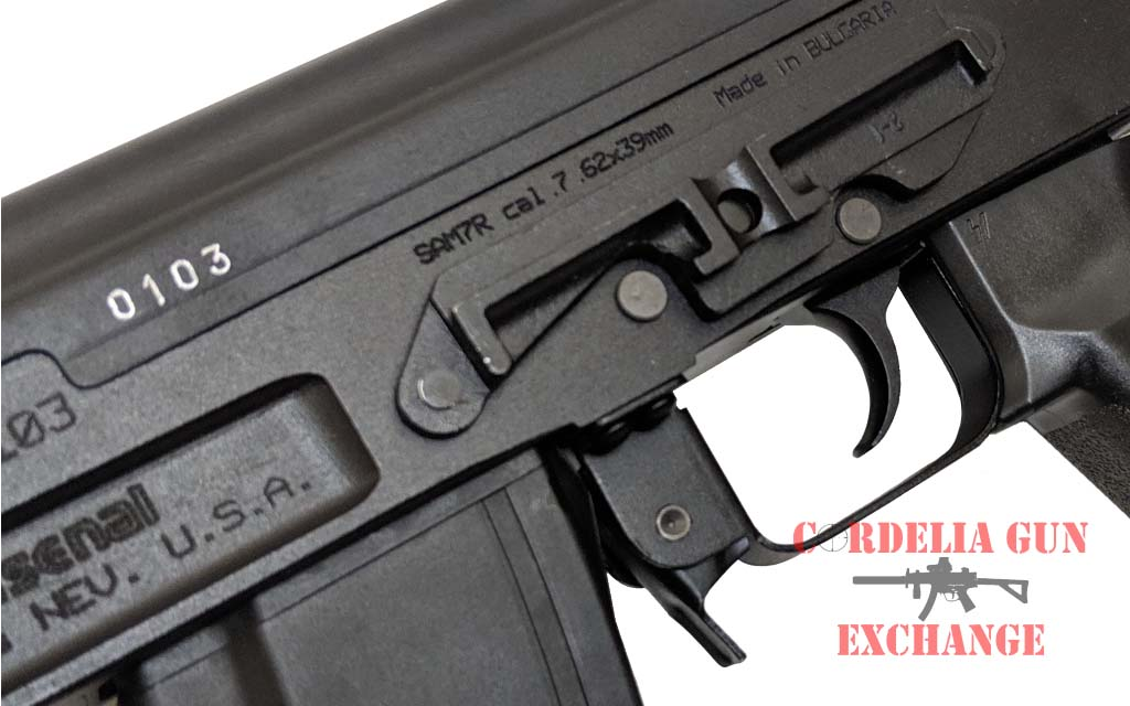 Each Arsenal SAM7R Railed 7.62x39 AK47 receiver is milled from a hot-die hammer forged receiver blank by Arsenal, Bulgaria!