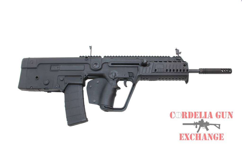 Now available in California, the IWI Tavor X95 Black 556mm bullpup is the next evolution in an already specatular line of Israeli developed rifles. Available from Cordelia Gun Exchange!
