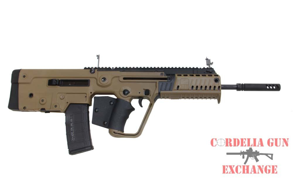 Now available in California, the IWI Tavor X95 FDE 556mm bullpup is the next evolution in an already specatular line of Israeli developed rifles! Available from Cordelia Gun Exchange!