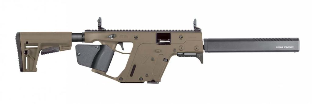 Kriss Vector 45ACP FDE Kriss Vector 9mm FDE