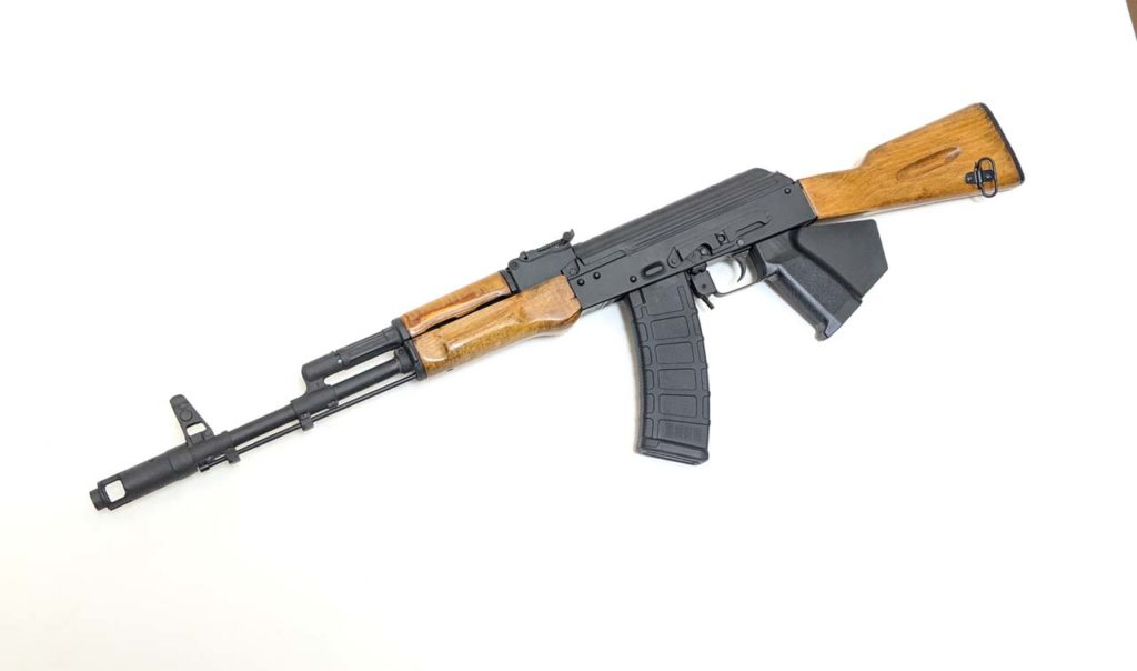 Lee Armory Bulgarian AK74 5.45x39 Rifle for California. Each AK-74 Ships with a brand new barrel, Cerkote Finish and a Limited Lifetime Lee Armory Warranty! Available from Cordelia Gun Exchange!