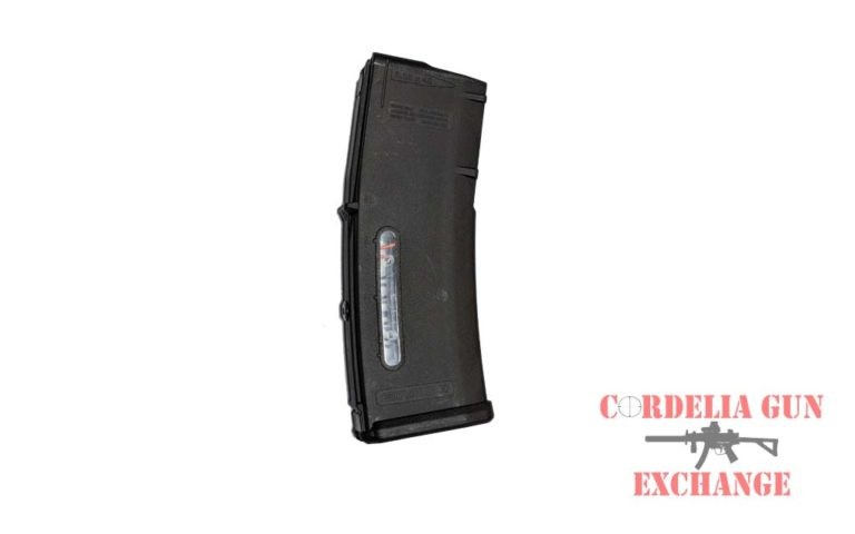 The Magpul 10-30 British SA80 556mm Magazine is legal in California, New York, Connecticut, DC, Maryland and Massachusetts! Available from Cordelia Gun Exchange!