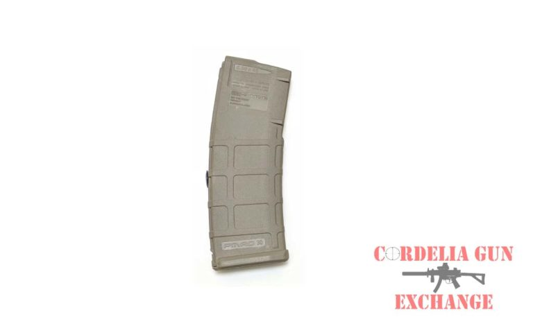 The Magpul 10-30 AR15 556mm FDE Magazine is legal in California, New York, Connecticut, DC, Maryland and Massachusetts! Available from Cordelia Gun Exchange!
