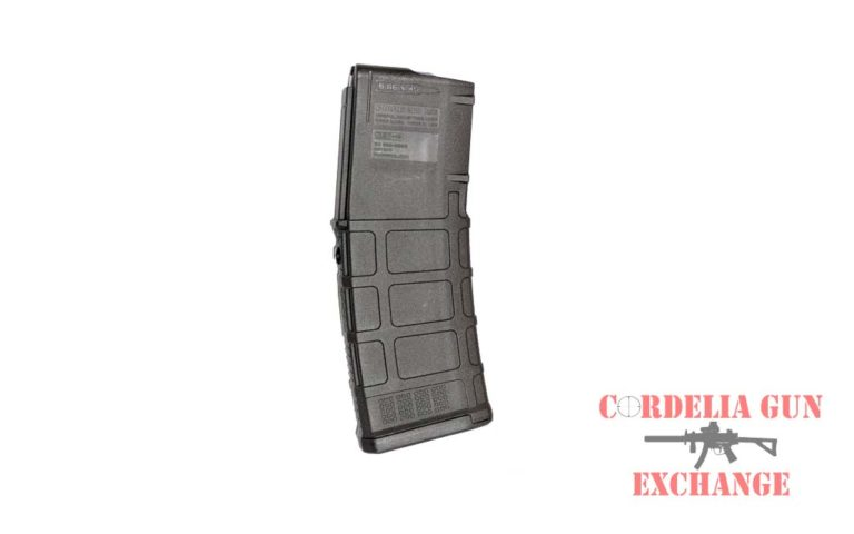 The Magpul 10-30 556mm AR15 Magazine is legal in California, New York, Connecticut, DC, Maryland and Massachusetts! Available from Cordelia Gun Exchange!