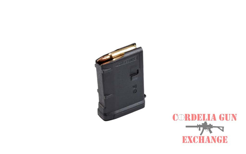 The Magpul 10 Round AR15 556mm Magazine is legal in California, New York, Connecticut, DC, Maryland and Massachusetts! Available from Cordelia Gun Exchange!