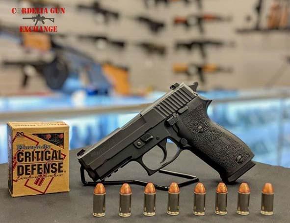 SIG SAUER P220R Carry 45ACP – Hornady – Cordelia Gun Exchange