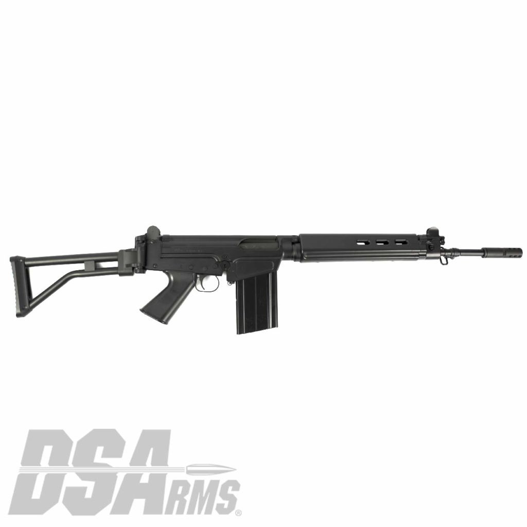 The DSA SA58 FAL 18 Inch PARA CONGO Edition Rifle exceed the quality of any FAL type rifle produced for California! Featureless FAL with 10/20 Magazine!