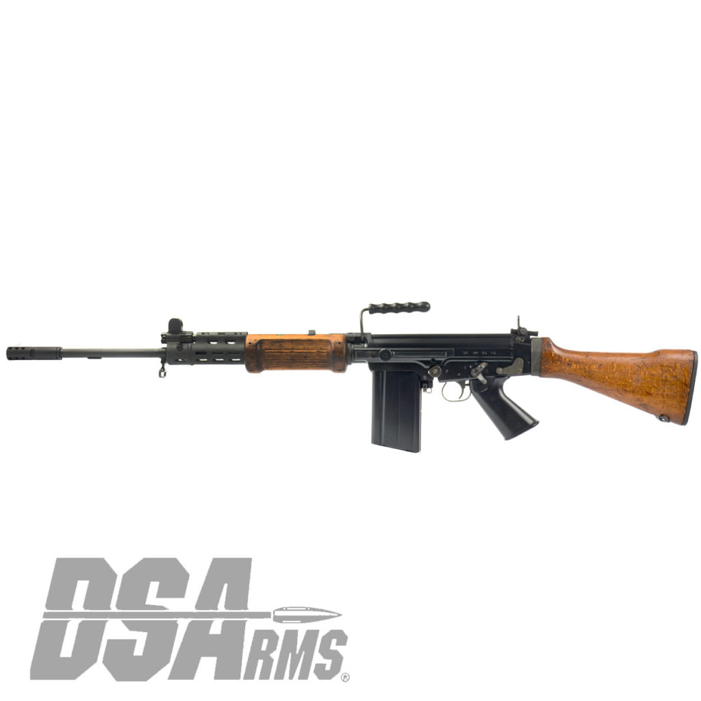The DSA SA58 FAL 21 Inch Officer Grade Hebrew War Hammer Israeli light barrel rifle exceeds the quality of any FAL type rifle produced, and is CA legal!