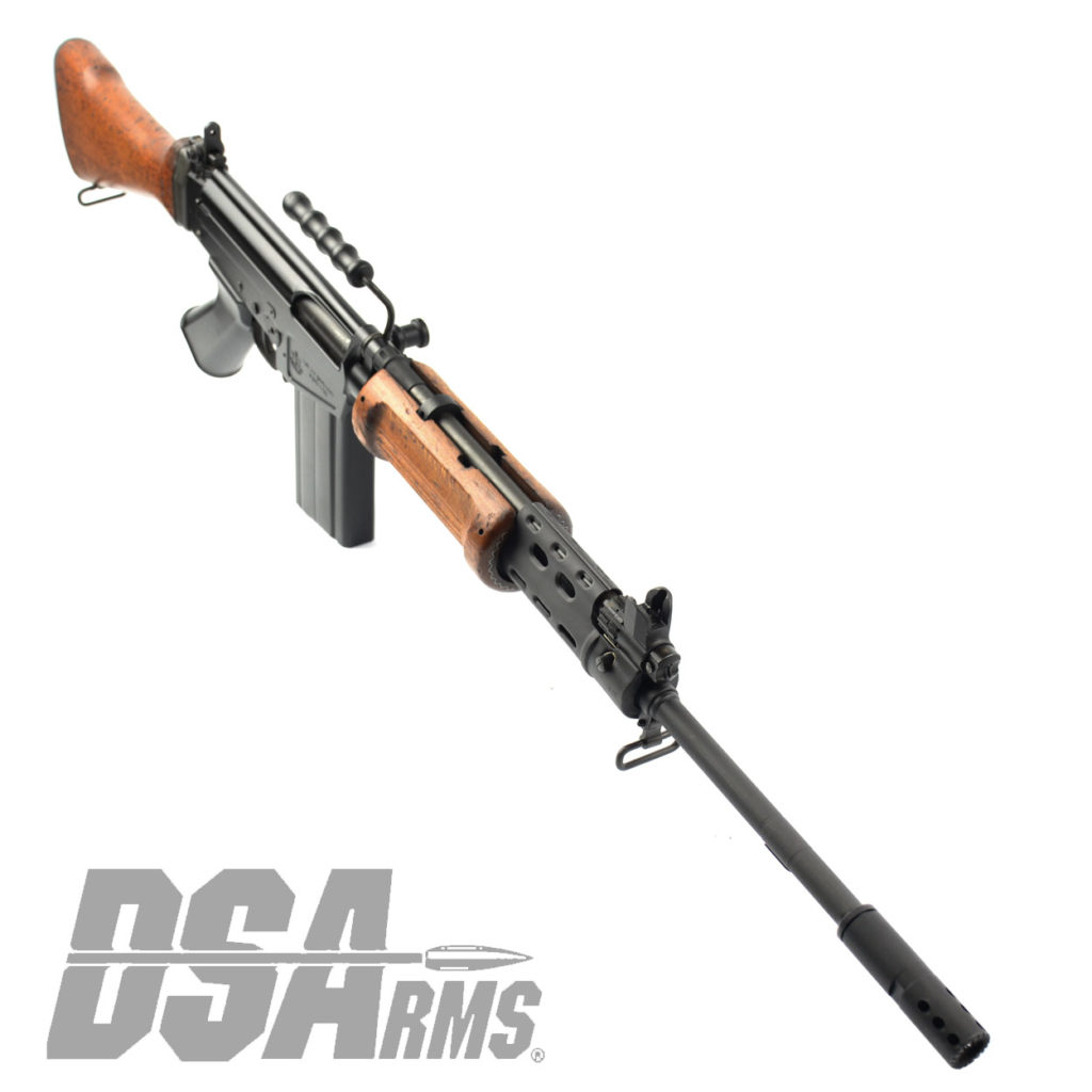 The DSA SA58 FAL 21 Inch Officer Grade Hebrew War Hammer Israeli light barrel rifle exceeds the quality of any FAL type rifle ever produced.