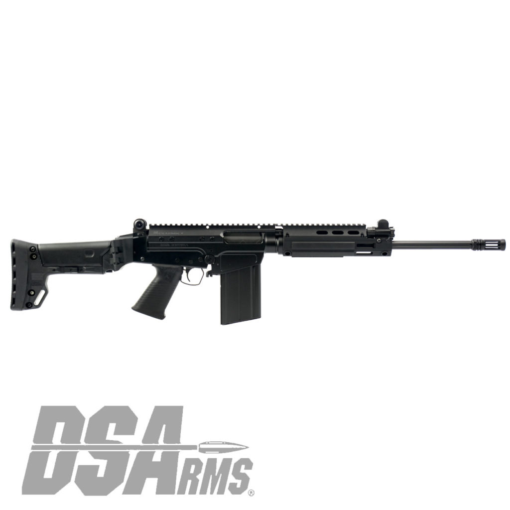 The DSA SA58 FAL Battle Carbine 16 Inch Fluted Barrel Folding Stock rifle for California! DSA specializes in manufacturing and modernizing FAL systems