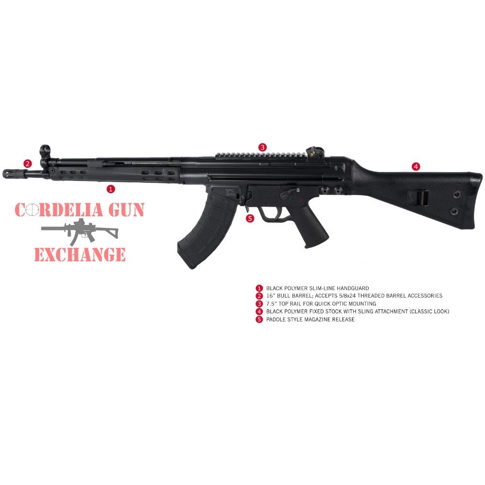 PTR Industries 32 KFR roller-lock rifle