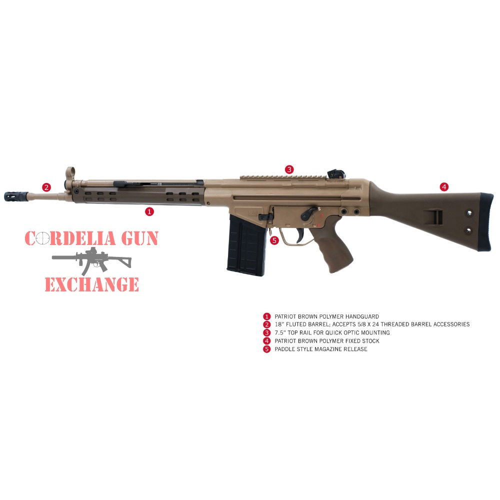 PTR Industries GIR FDE PTR-407 California