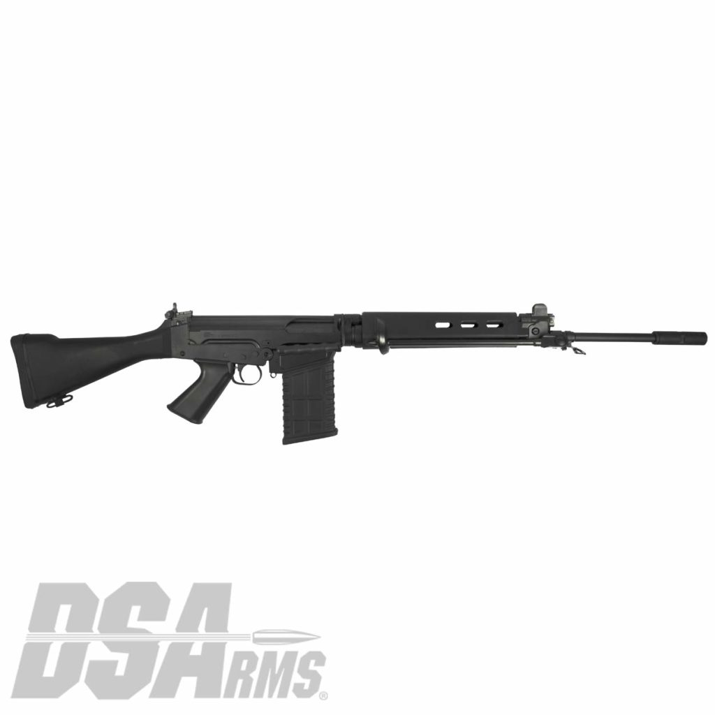 "The DSA SA58 Classic FAL 21"" traditional profile barrel classic for CA exceeds the quality of any FAL type rifle ever produced! California legal."