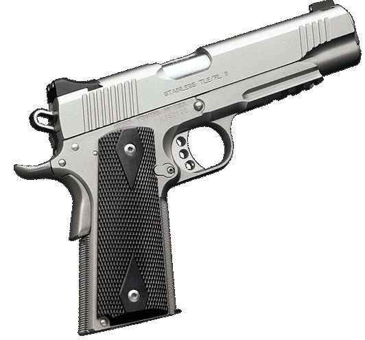 The California compliant Kimber TLE-RL II Stainless 45ACP CA 1911 pistol is widely regarded as the ideal personal protection and duty carry pistol.