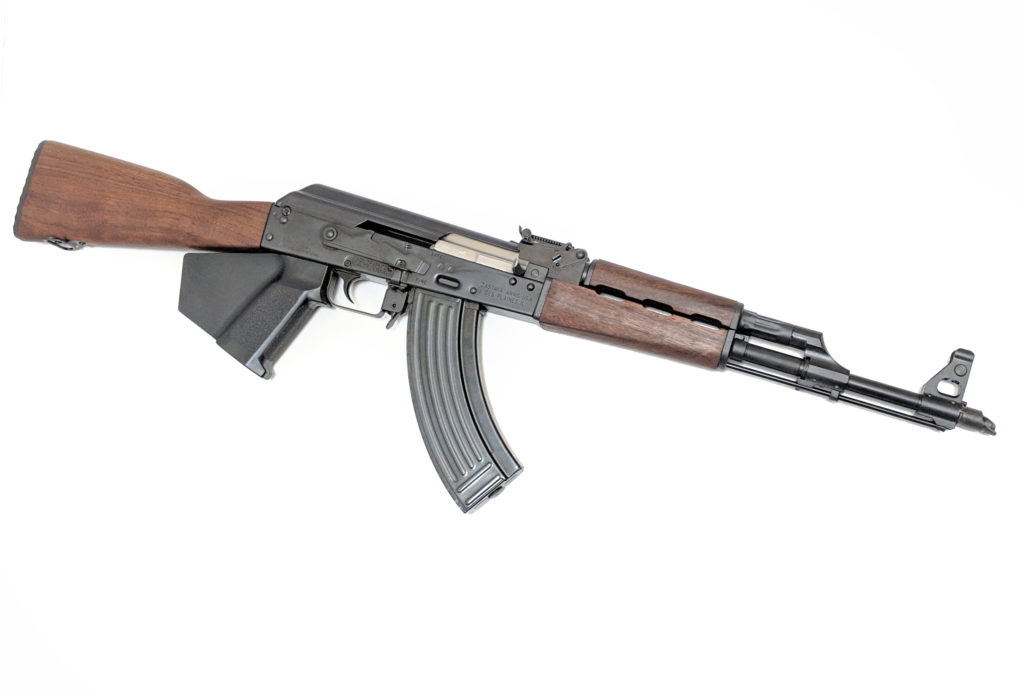 The California compliant Zastava Arms ZPAP M70 AK47 style 7.62x39 M70 rifle with walnut furniture is available now from Cordelia Gun Exchange!