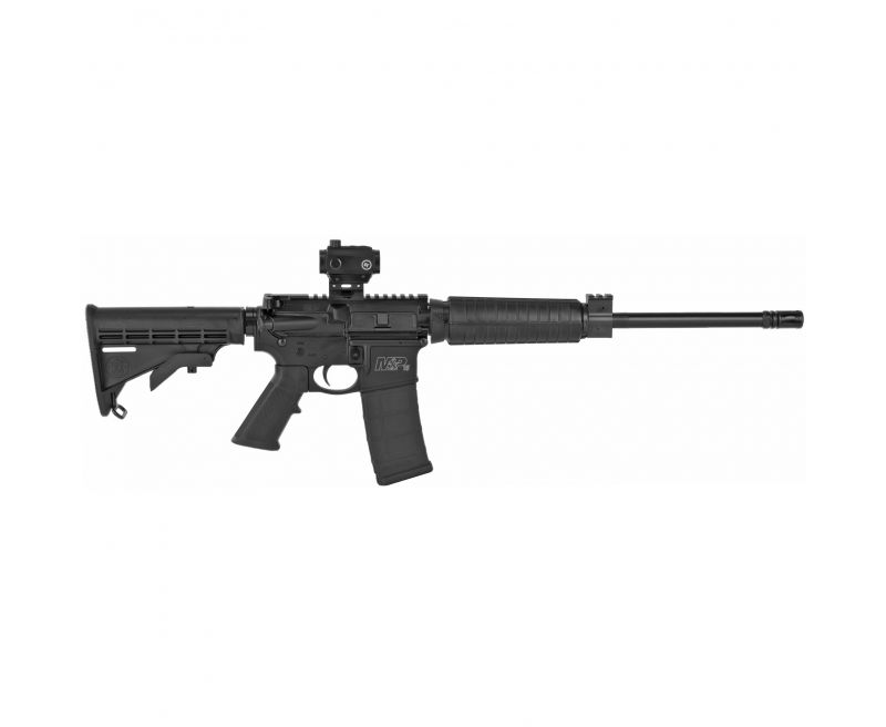 The Smith & Wesson M&P 15 Sport II Optics Ready CTC! For those of us who just can not part with our pistol grips and collapsing stocks, a break action M&P 15 Sport II is the way to go!